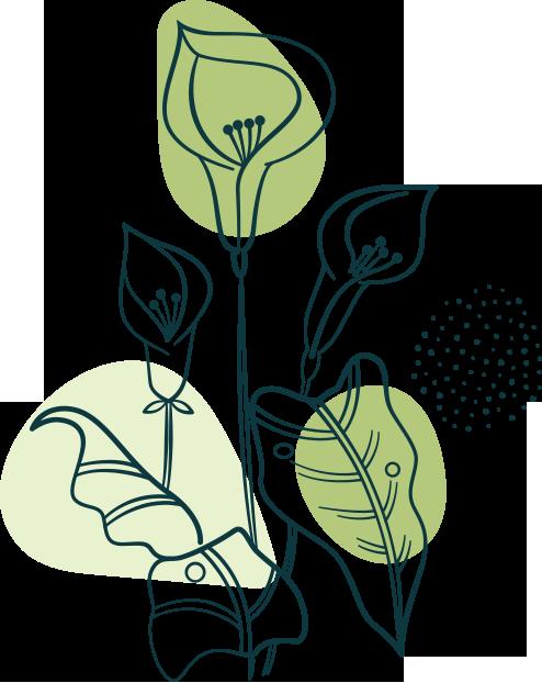 Flower and Plants emotional wellness