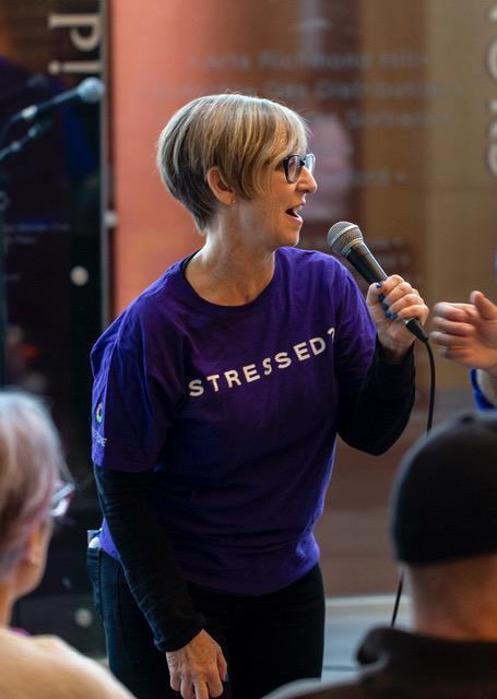 Heather Skoll, public speaker on emotional wellness